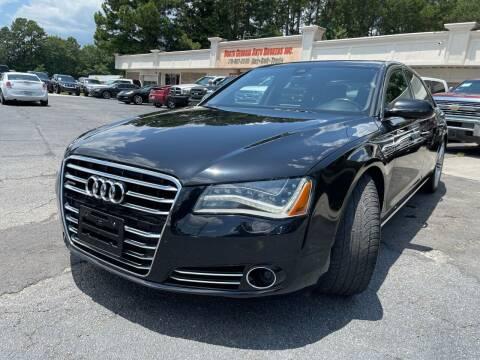 2013 Audi A8 L for sale at North Georgia Auto Brokers in Snellville GA