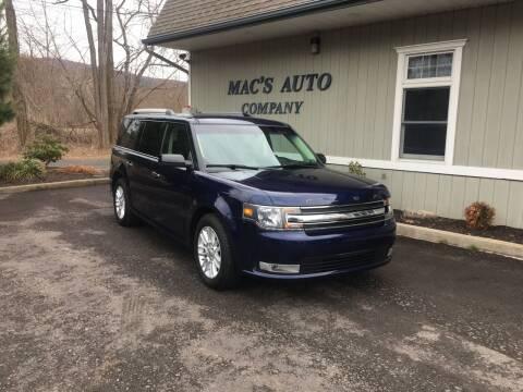 2016 Ford Flex for sale at MAC'S AUTO COMPANY in Nanticoke PA