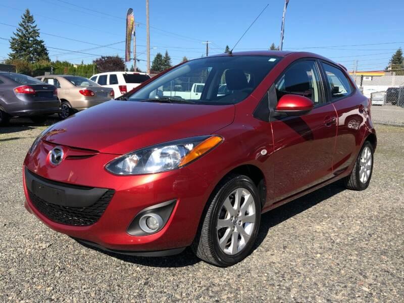 2014 Mazda MAZDA2 for sale at A & V AUTO SALES LLC in Marysville WA