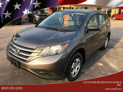 2014 Honda CR-V for sale at Outdoor Recreation World Inc. in Panama City FL