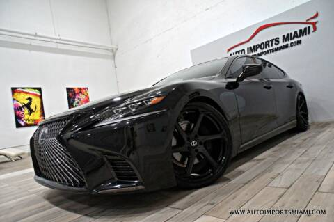 2019 Lexus LS 500 for sale at AUTO IMPORTS MIAMI in Fort Lauderdale FL