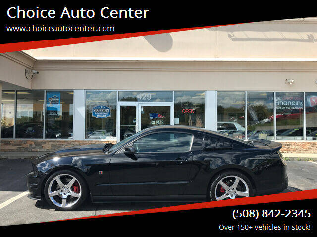 2010 Ford Mustang for sale at Choice Auto Center in Shrewsbury MA