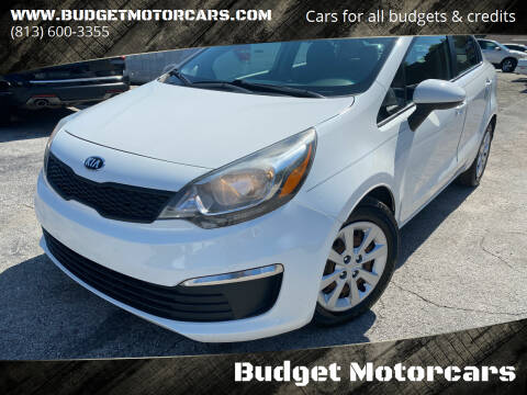 2016 Kia Rio for sale at Budget Motorcars in Tampa FL