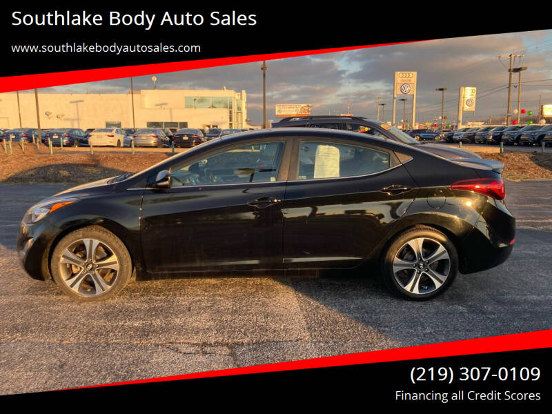 2016 Hyundai Elantra for sale at Southlake Body Auto Sales in Merrillville IN