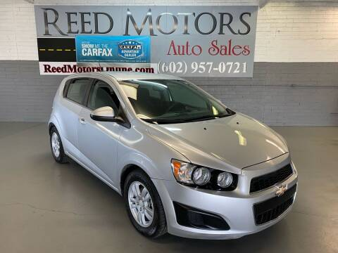 2016 Chevrolet Sonic for sale at REED MOTORS LLC in Phoenix AZ