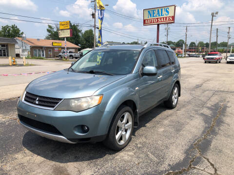 2007 Mitsubishi Outlander for sale at Neals Auto Sales in Louisville KY
