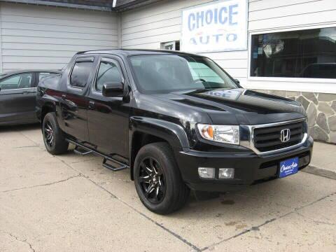 2013 Honda Ridgeline for sale at Choice Auto in Carroll IA
