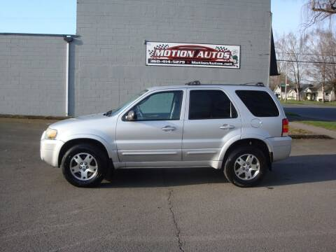 2005 Ford Escape for sale at Motion Autos in Longview WA