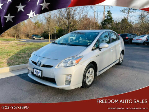 2010 Toyota Prius for sale at Freedom Auto Sales in Chantilly VA