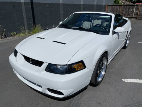 2003 Ford Mustang SVT Cobra for sale at APX Auto Brokers in Lynnwood WA