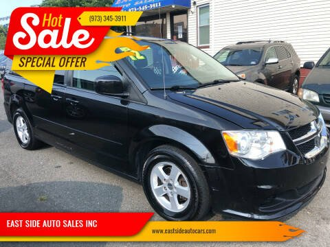 2012 Dodge Grand Caravan for sale at EAST SIDE AUTO SALES INC in Paterson NJ