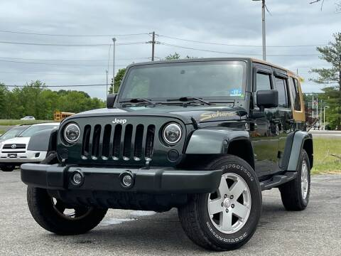 2010 Jeep Wrangler Unlimited for sale at MAGIC AUTO SALES in Little Ferry NJ