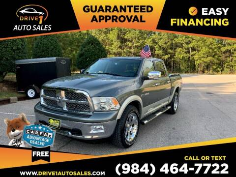2010 Dodge Ram Pickup 1500 for sale at Drive 1 Auto Sales in Wake Forest NC