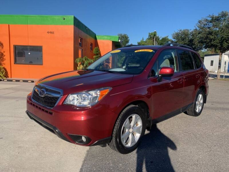 2015 Subaru Forester for sale at Galaxy Auto Service, Inc. in Orlando FL