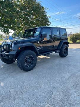 2013 Jeep Wrangler Unlimited for sale at BARROW MOTORS in Caddo Mills TX