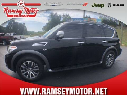 2018 Nissan Armada for sale at RAMSEY MOTOR CO in Harrison AR