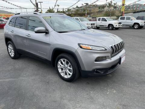 2018 Jeep Cherokee for sale at Los Compadres Auto Sales in Riverside CA