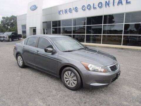 2009 Honda Accord for sale at King's Colonial Ford in Brunswick GA