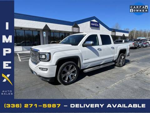 2018 GMC Sierra 1500 for sale at Impex Auto Sales in Greensboro NC