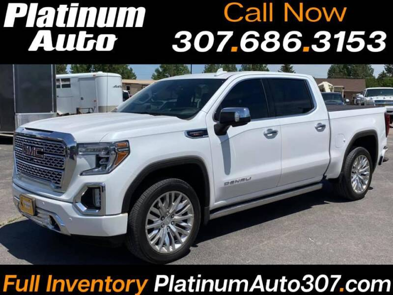 2020 GMC Sierra 1500 for sale at Platinum Auto in Gillette WY