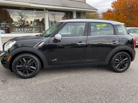 2011 MINI Cooper Countryman for sale at Real Deal Auto Sales in Auburn ME