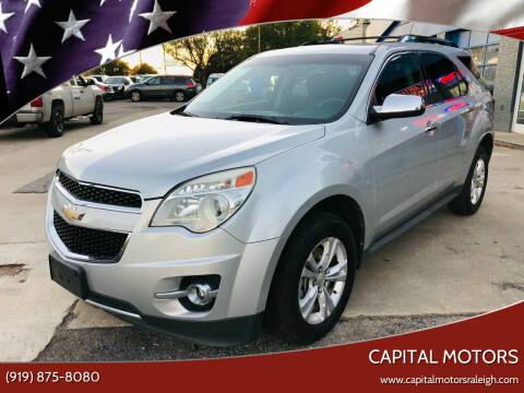 2011 Chevrolet Equinox for sale at Capital Motors in Raleigh NC