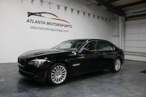 2009 BMW 7 Series for sale at Atlanta Motorsports in Roswell GA