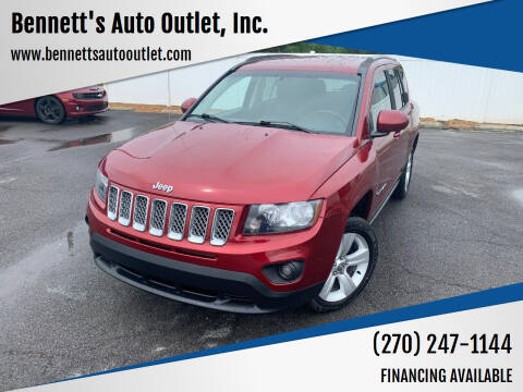 2015 Jeep Compass for sale at Bennett's Auto Outlet, Inc. in Mayfield KY