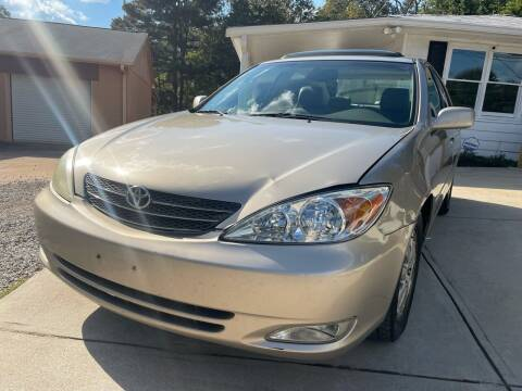 2003 Toyota Camry for sale at Efficiency Auto Buyers in Milton GA