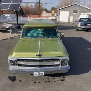 1970 Chevrolet Suburban for sale at Classic Car Deals in Cadillac MI