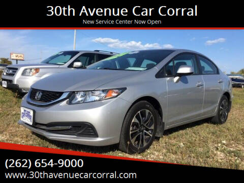 2013 Honda Civic for sale at 30th Avenue Car Corral in Kenosha WI