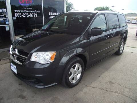2012 Dodge Grand Caravan for sale at World Wide Automotive in Sioux Falls SD