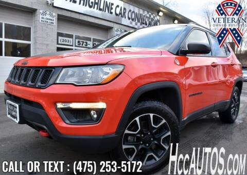 2020 Jeep Compass for sale at The Highline Car Connection in Waterbury CT