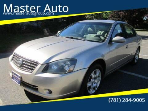 2005 Nissan Altima for sale at Master Auto in Revere MA