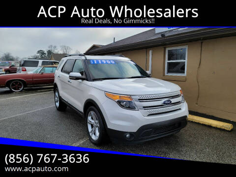 2011 Ford Explorer for sale at ACP Auto Wholesalers in Berlin NJ