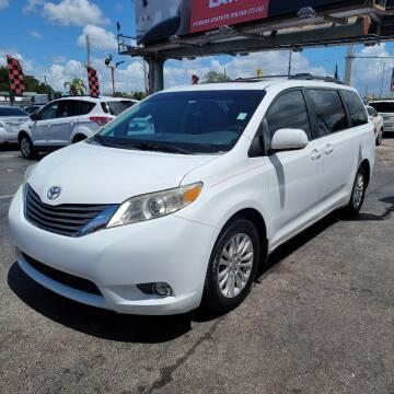 2012 Toyota Sienna for sale at America Auto Wholesale Inc in Miami FL