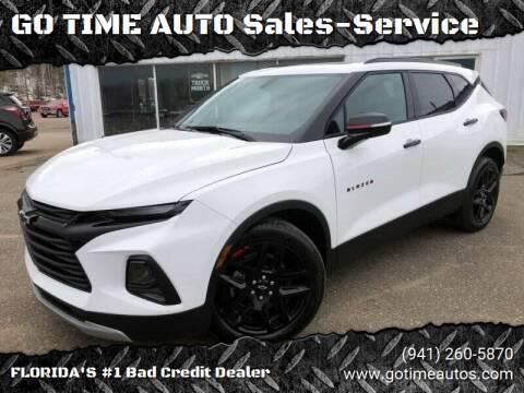 2020 Chevrolet Blazer for sale at Go Time Automotive in Sarasota FL