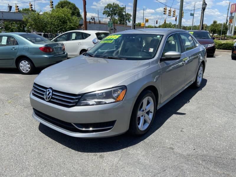 2014 Volkswagen Passat for sale at Starmount Motors in Charlotte NC