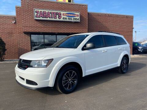 2017 Dodge Journey for sale at Zarate's Auto Sales in Caledonia WI