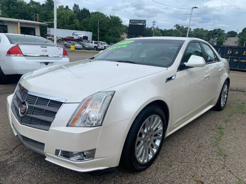 2011 Cadillac CTS for sale at G & G Auto Sales in Steubenville OH
