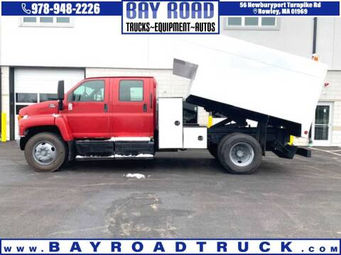 2007 GMC C7500 for sale at Bay Road Trucks in Newbury MA