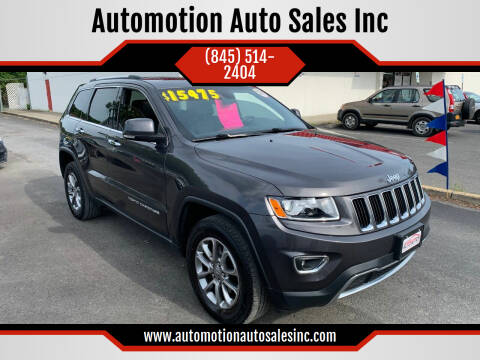 2014 Jeep Grand Cherokee for sale at Automotion Auto Sales Inc in Kingston NY