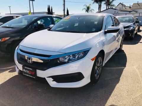 2017 Honda Civic for sale at Auto Max of Ventura in Ventura CA