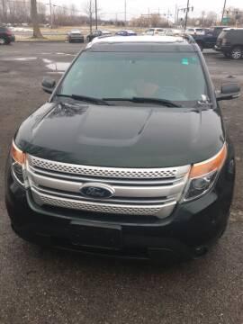 2013 Ford Explorer for sale at Hamburg Motors in Hamburg NY