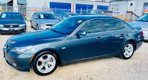 2008 BMW 5 Series for sale at Al's Motors Auto Sales LLC in San Antonio TX