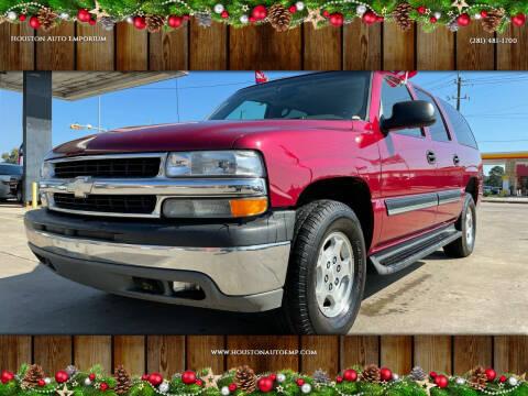 2004 Chevrolet Suburban for sale at Houston Auto Emporium in Houston TX