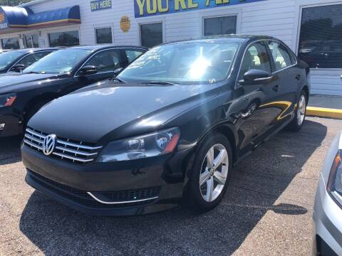 2012 Volkswagen Passat for sale at Greg's Auto Sales in Poplar Bluff MO