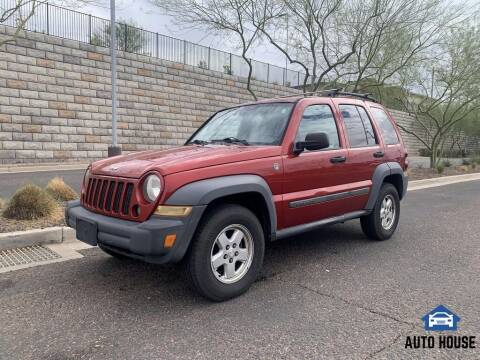 2007 Jeep Liberty for sale at AUTO HOUSE TEMPE in Tempe AZ