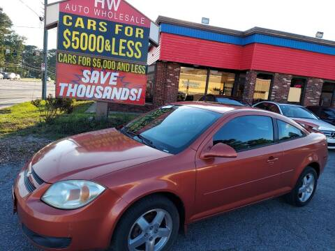 2005 Chevrolet Cobalt for sale at HW Auto Wholesale in Norfolk VA