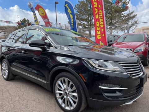2015 Lincoln MKC for sale at Duke City Auto LLC in Gallup NM